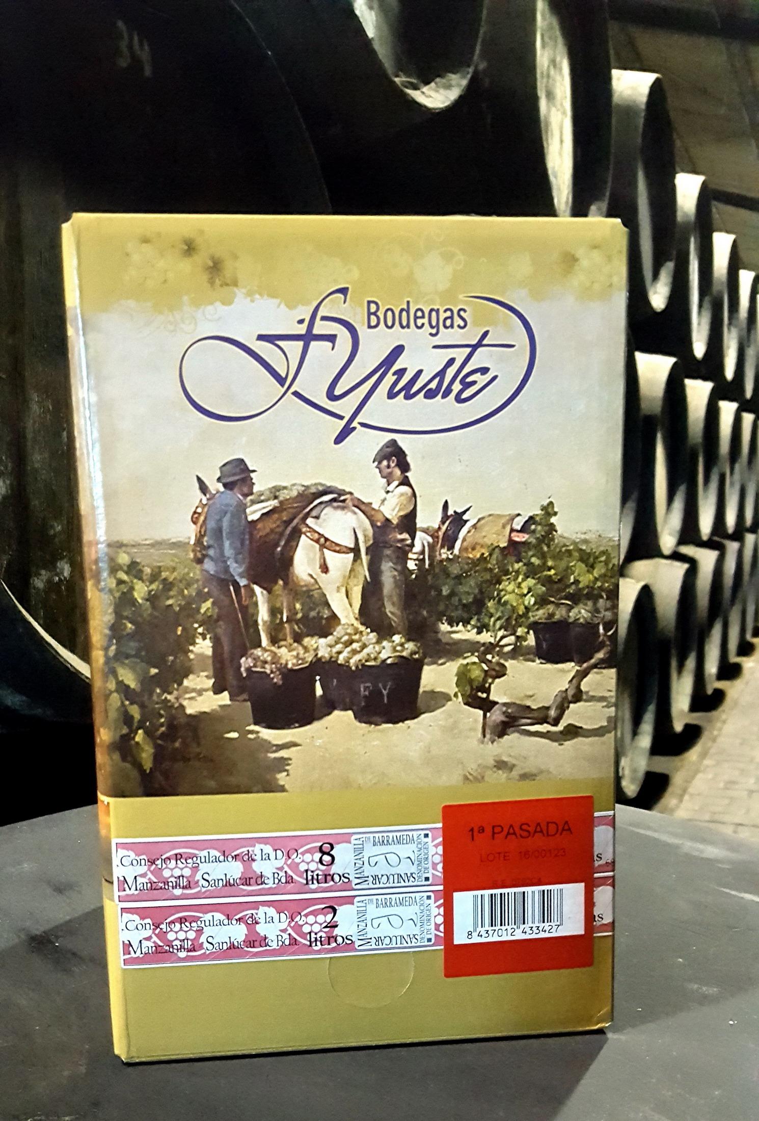 Manzanilla Pasada de Bodegas Yuste, Best Wine in Box en Francia