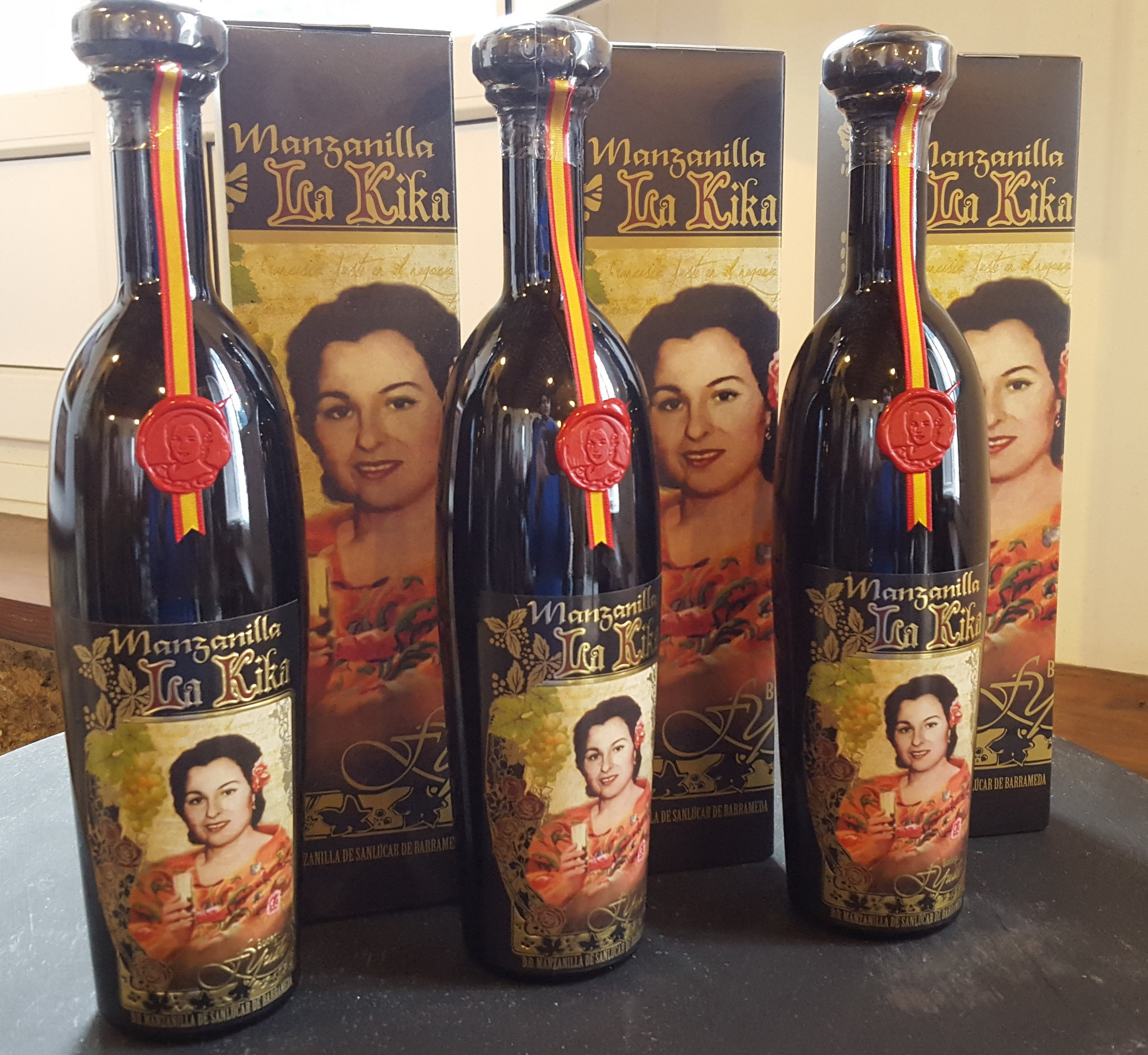 """Manzanilla """"La Kika"""", reina del vino en España"""