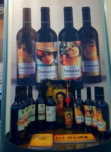 Muestra vinos stand Andalucía Sabor 2017 NP
