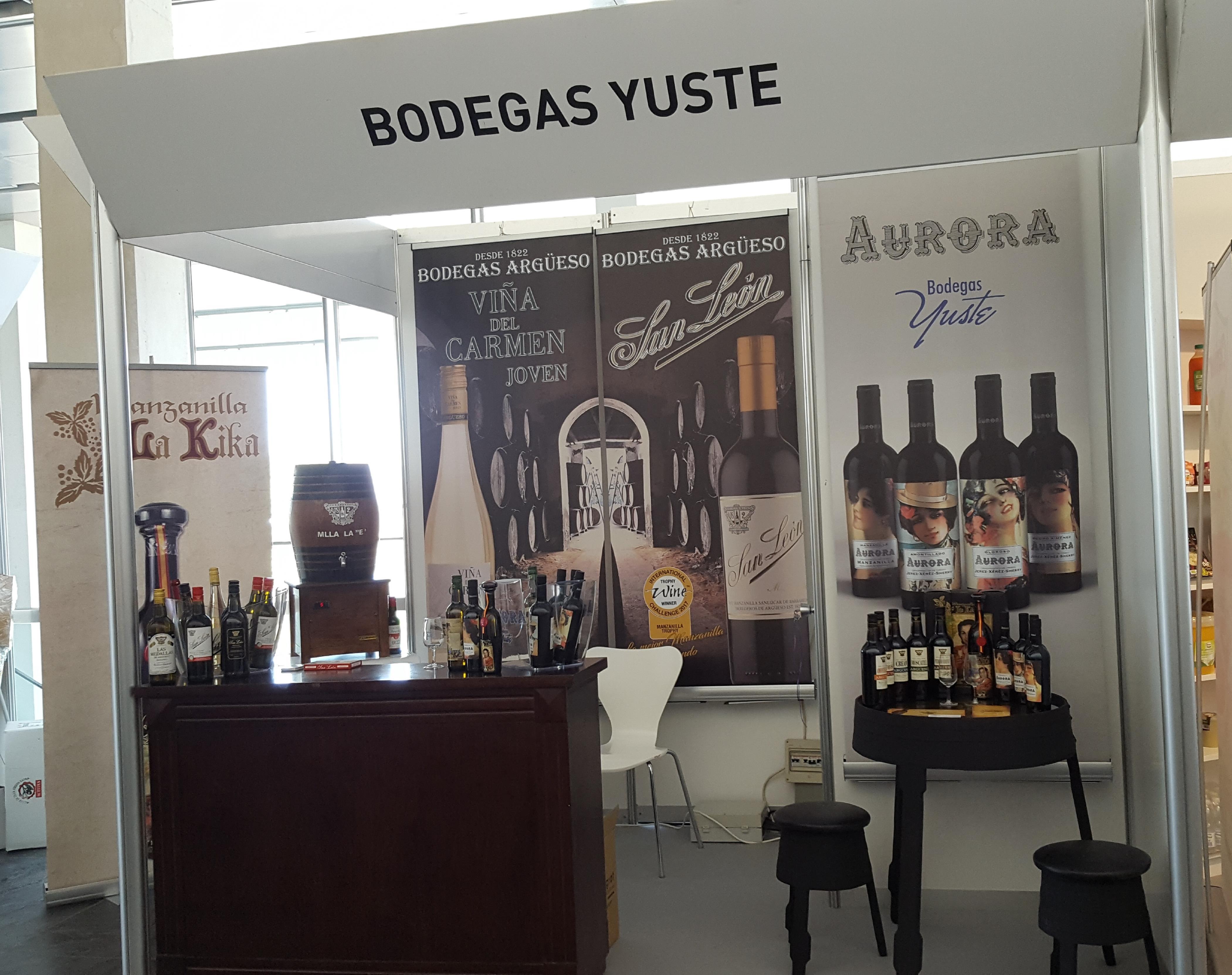 Los vinos de Francisco Yuste protagonistas en Andalucía Sabor