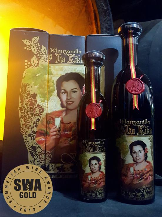 Manzanilla La Kika elegida uno de los mejores vinos del mundo